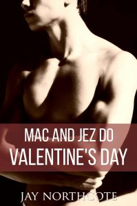 Book cover for Mac and Jez do Valentine's Day by Jay Northcote